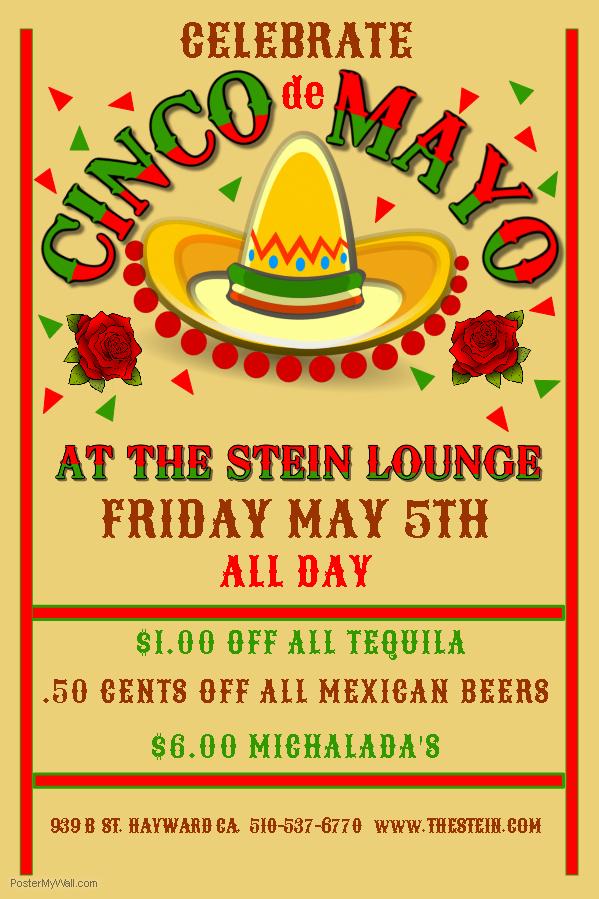 Cinco de Mayo at The Stein