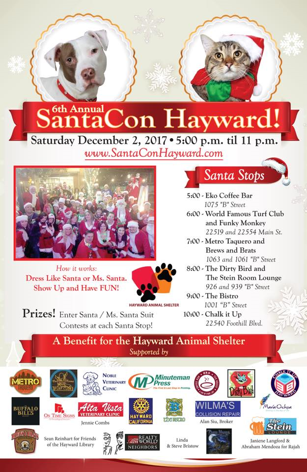 This Saturday December 02 We will be part of Santacon